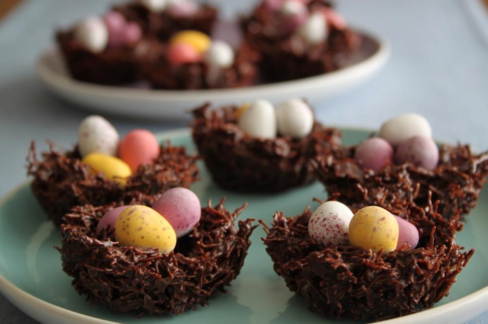 chocolate-cornflake-cakes